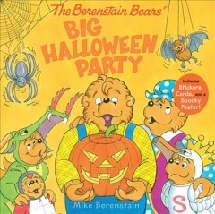 The Berenstain Bears' big Halloween party by Berenstain, Mike