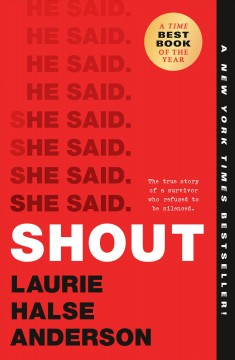 Shout by Anderson, Laurie Halse