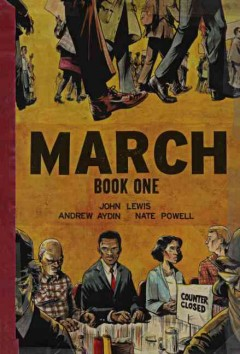 March.   Book One by Lewis, John