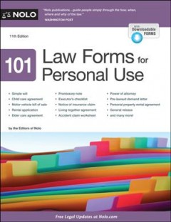 101 law forms for personal use by