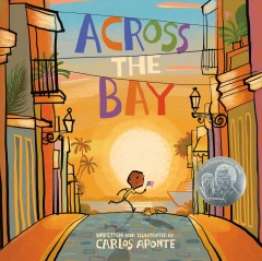 Across the bay by Aponte, Carlos  (Graphic artist)