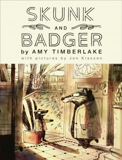 Skunk and Badger by Timberlake, Amy