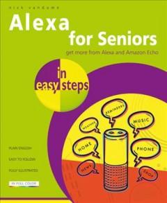 Alexa for seniors in easy steps by Vandome, Nick