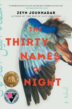 The thirty names of night : a novel by Joukhadar, Zeyn