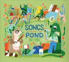Songs across the pond by Gibb, David  (Musician)