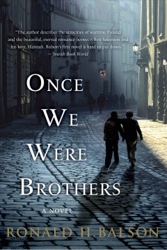 Once we were brothers / Ronald H. Balson