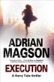 Cover for Execution : A Harry Tate Thriller
